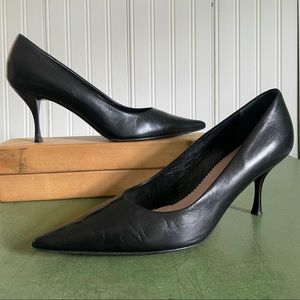 Vintage Authentic Prada Pointy Toed Heels ITALY